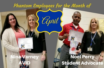 Staff Phantoms of the Month