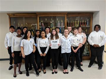 2019 East Johnston Honor Band Students