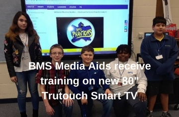Smart TV arrives at BMS
