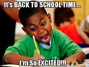 It's back to school time...I'm so EXCITED!!!