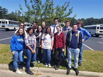 Clayton FFA Competes at Regional Rally