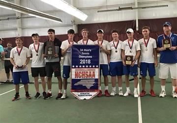 CHS Men's Tennis wins State Championship
