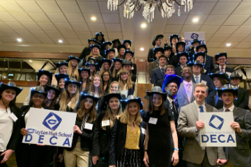 Clayton High School DECA Competes At DECA State Career Development Conference
