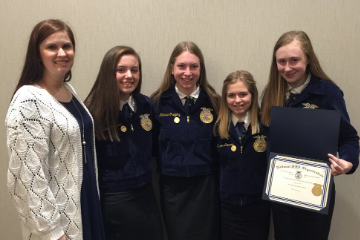 CHS FFA Horse Evaluation Team successful at National Event