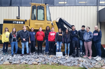 FFA Visits Caterpillar