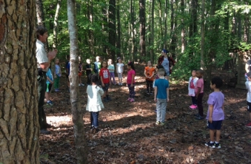 First Graders Visit Clemmons State Park