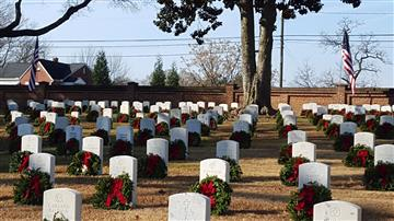 CvHS JROTC celebrates Wreaths Across America