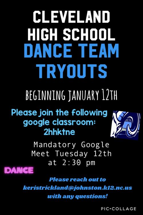 Dance tryouts