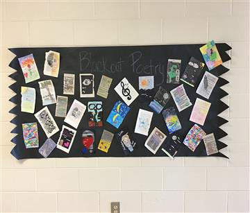 Students Practice Censorship with Blackout Poetry