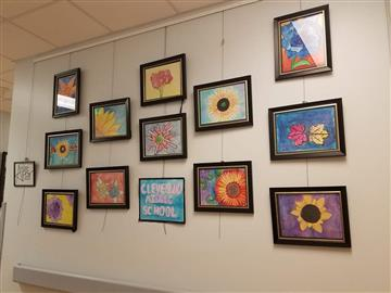 Some of the walls at Johnston Memorial Hospital in Smithfield are sure to make the patients smile a