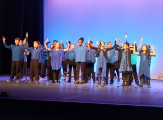 Cooper Chorus Performs at Showcase of Stars