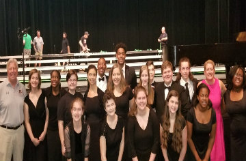 CHHS Shines at 2018 All-State High School Chorus