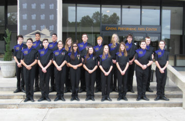 18 Marching Pirates in All District Band