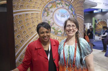 Visit With The Librarian of Congress