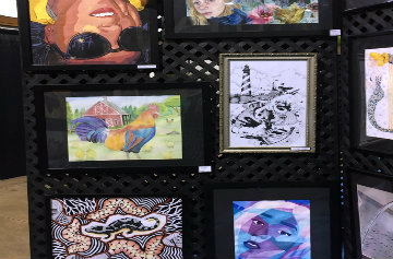 Art Students Take 4th Place at State Fair