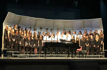 2 Choral Ensembles competed