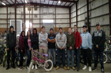 CHHS Auto Tech Class Helps Repair Bikes in Fayetteville