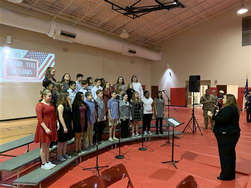 """Thank You Soldiers"" Performed by The FOMS Honor Choir"