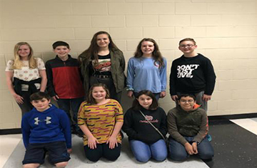 FOMS All-County Chorus Students