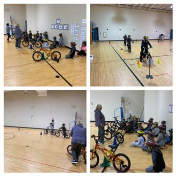 GKE Students Learn Bike Safety