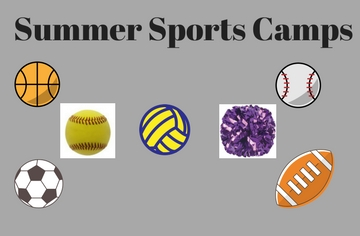 Summer Sports Camps Announced