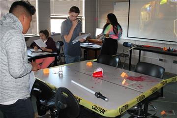 Murder Mystery in Chemistry and Biology