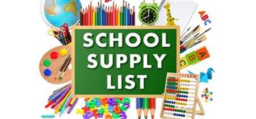 JCECA 2019-2020 School Supply list