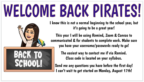 Welcome Back Pirates!