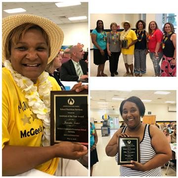 JCPS names School Nutrition Manager and Assistant of the Year