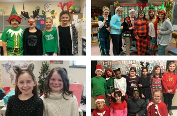Our students and staff  have  had  fun dressing up for Christmas Fun Week!