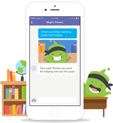 Sign up for Class Dojo