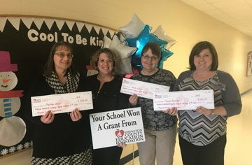 Johnston County Ed Foundation Grant Winners