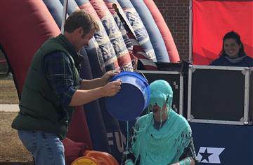 Mrs. Leonard Gets Slimed!!!