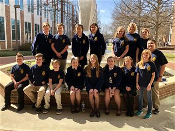 FFA® Has Strong Performance at Competition in Greensboro