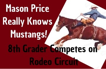 Local 8th Grader is a Real Rodeo Competitor