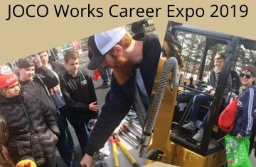 Mustangs Proud: 8th Grade Goes to JOCO Works Career Expo