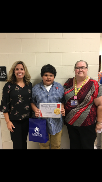 Alejandro Gomez Recognized at Board of Education Meeting