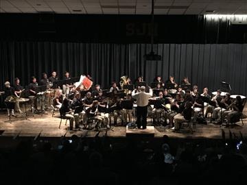 Meadow Concert Held at SJHS