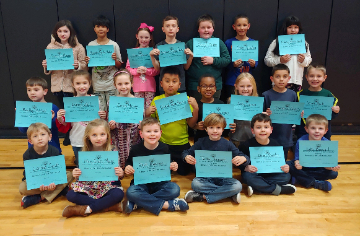Students who demonstrate a self directed mindset were chosen for the month of January.