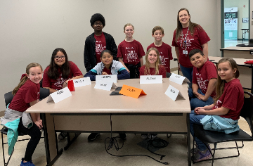 Micro Elementary had 9 students participated our districts Battle of the Books competition
