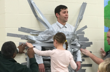 Fundraiser Duct Tape Event