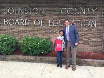 Student Recognized by Board of Education for Demonstrating Respect