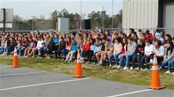 NJHS JoCo Teen Drivers and Theater Stage Mock Accident