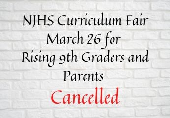 8th Grade Night Cancelled