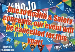 NOJO Family Day Cancelled