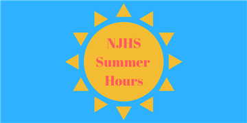 NJHS Summer Hours