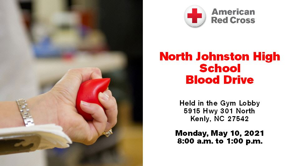 NJHS HOSA Blood Drive : May 10