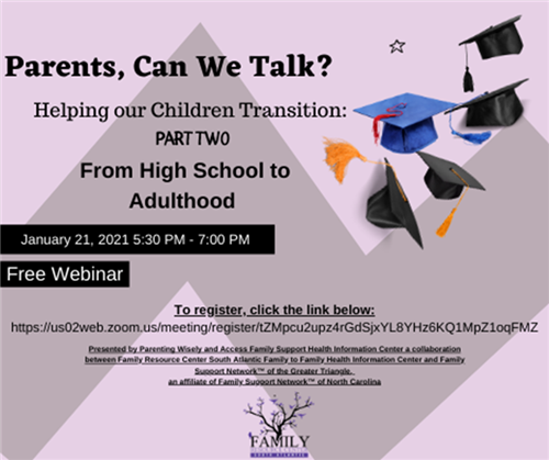 Free Webinar for Senior Parents
