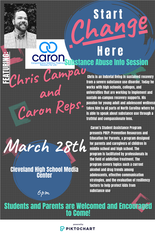 Invitation to Event at Cleveland HS