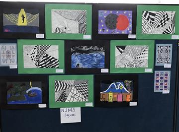 Student Artwork Selected for Display at Showcase of Stars